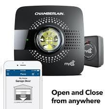 ss white garage doors chamberlain smart garage hub myq g0301 upgrade your existing