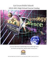 las cruces public schools high course catalog
