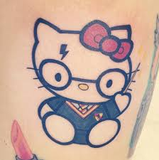wizard kitty hello kitty tattoo ideas popsugar tech photo 1