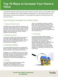 ways to increase home value 10 ways to increase your home value san francisco real estate
