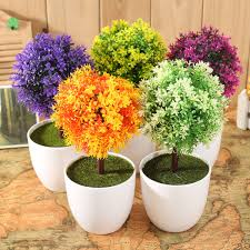 artificial plants for outdoors gardens and landscapings decoration
