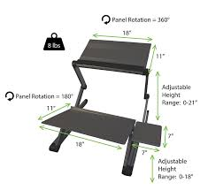 affordable sit stand desk workez standing desk conversion kit affordable adjustable height