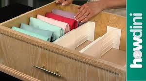 How To Organize Nightstand How To Organize Your Dresser Drawers And Fold Clothes Youtube