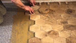 wood block flooring flooring designs comment poser des paves en bois de bout end grain wood blocks