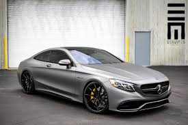 mercedes s63 amg for sale stealthy matte grey mercedes s63 amg coupe gtspirit