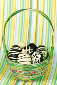 dipped cream center filled easter eggs recipe