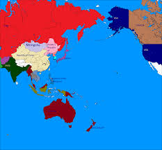 Blank Pacific Map by Alternate Asia 1946 Alternate History Discussion