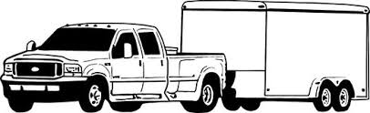 dually truck coloring pages