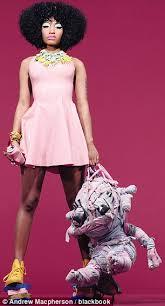 nicki minaj u0027s modest pop photo shoot but she u0027s still u0027weird u0027 like