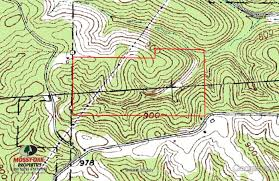 Ohio Public Hunting Land Maps by 73 Acres In Vinton County Ohio