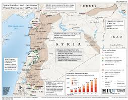 Syria Turkey Map by Syrian Refugee Crisis In Maps