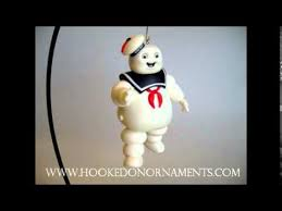 2012 stay puft marshmallow menace ghostbusters hallmark