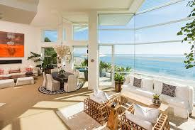 Beach House Interior Design Paradise Cove Beach House In California Usa