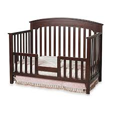 Side Rails For Convertible Crib Child Craft Toddler Guard Rail For Convertible Cribs In Cherry