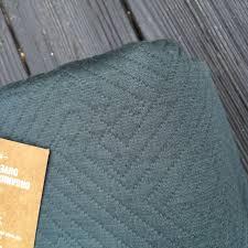 new west elm organic matelasse duvet cover king slate euro sham