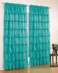 Chezmoi Collection Curtains by Amazon Com Mk Collection Gypsy Crushed Ruffle Sheer Curtains 55