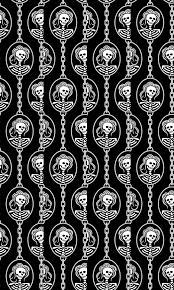 halloween skeleton wallpaper a halloween skeleton cameo giftwrap taracrowleythewyrd spoonflower