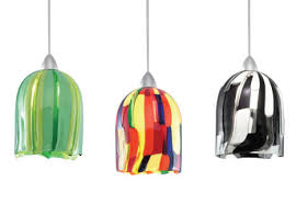 Wac Pendant Lighting Fused Glass Pendant Shades The Connect G530 Series By