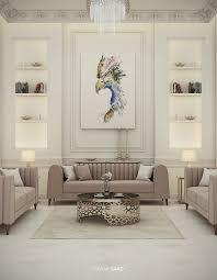 luxury classic villa interior design on behance post modern