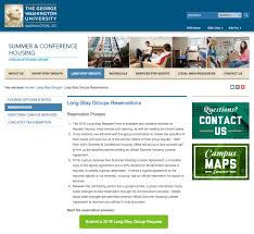 George Washington University Campus Map by New Gw Drupal Feature Buttons Online Strategy Marketing