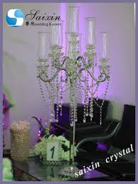 new wedding decoration centerpieces crystal candelabra zt 267t