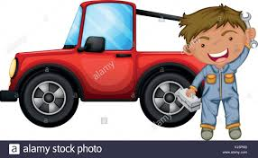cartoon jeep wrangler jeep stock vector images alamy
