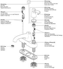 Handle Shower Faucet Menards Delta Kitchen Sink Faucets Delta - Kitchen sink faucet parts diagram