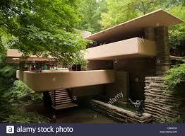 falling water edgar j kaufmann sr residence by frank lloyd