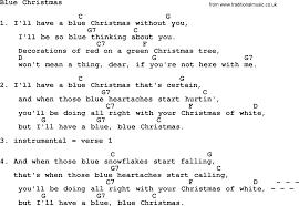 loretta lynn song blue christmas lyrics and chords