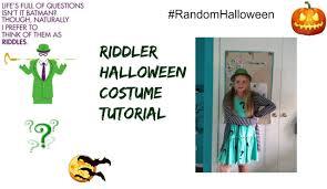 Riddler Halloween Costume Riddler Costume Halloween Tutorial Diy
