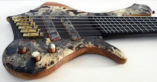 fanned fret 6 string bass bass of the week prometeus guitars ahab