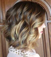 medium length hair with ombre highlights gorgeous curly hairstyles for medium length hair hairstyles 2018