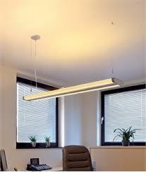 office fluorescent light alternative linear suspended lights for offices lighting styles