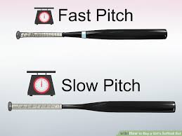 pitch bats 3 ways to buy a girl s softball bat wikihow