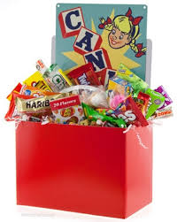 unique gift baskets unique gifts retro candy baskets boxes