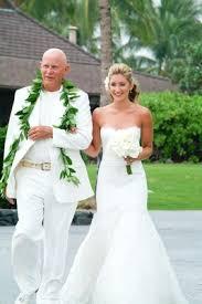tropical wedding attire all white destination wedding in hawaii inside weddings