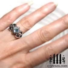 model wedding ring princess engagement ring 925 sterling silver