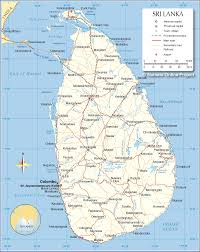 Virginia Map With Cities Political Map Of Sri Lanka Nations Online Project