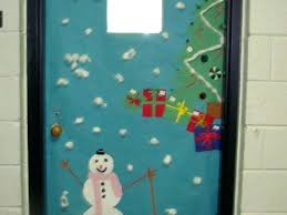 Door Decorations For Winter - office door christmas decorations classroom door decorations