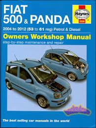 fiat 500 shop manual service repair book haynes chilton ebay