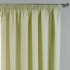 dotty thermal blackout readymade curtains sage