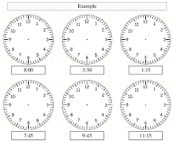 clock worksheets online analogue clock worksheet maker make your own tailored worksheets