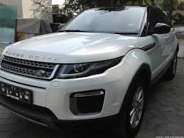old white land rover land rover launches range rover evoque facelift in india
