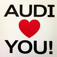 audi support thank you for your support everyone valentinesday from audi