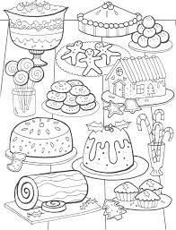 Cozy Ideas Food Coloring Pages For Adults Best Drawing Board Food Color Pages