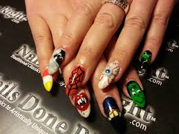 halloween nail art nails done right
