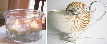 table centerpieces ideas 25 sea shell crafts and unique table centerpiece ideas