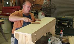 Basic Wood Bench Plans by Building A Simple Wooden Bench Youtube