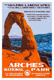Wedding Arches National Park National Parks Poster Project Q U0026 A With Artist Rob Decker