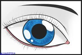 simple drawing of an eye drawing art gallery
